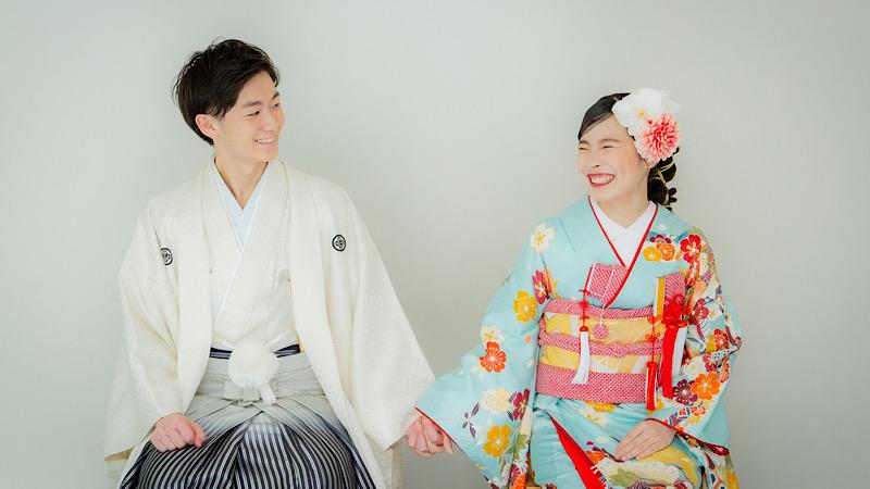 新郎 紋付袴 着付&ヘアセット
